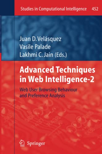 Advanced Techniques in Web Intelligence-2: Web User