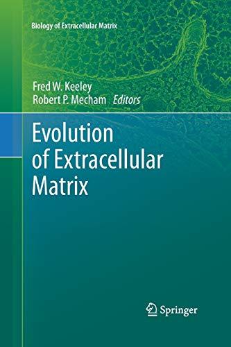 9783642430374: Evolution of Extracellular Matrix (Biology of Extracellular Matrix)