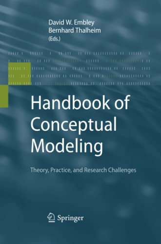 9783642430497: Handbook of Conceptual Modeling: Theory, Practice, and Research Challenges