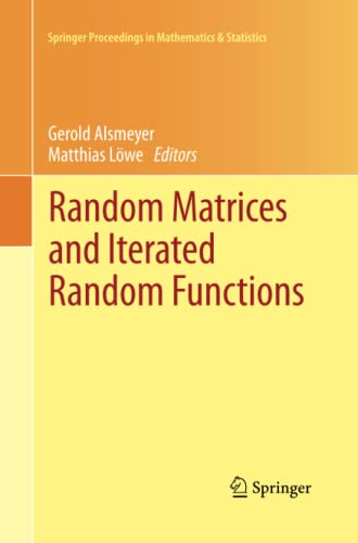 9783642431227: Random Matrices and Iterated Random Functions: Münster, October 2011