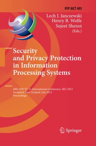 Security and Privacy Protection in Information Processing Systems: 28th IFIP TC 11 International ...