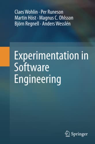 9783642432262: Experimentation in Software Engineering