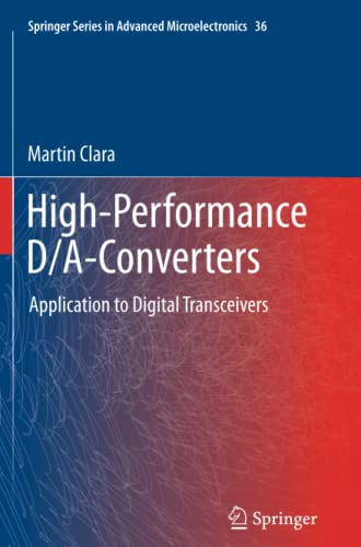 9783642432750: High-Performance D/A-Converters: Application to Digital Transceivers (Springer Series in Advanced Microelectronics)