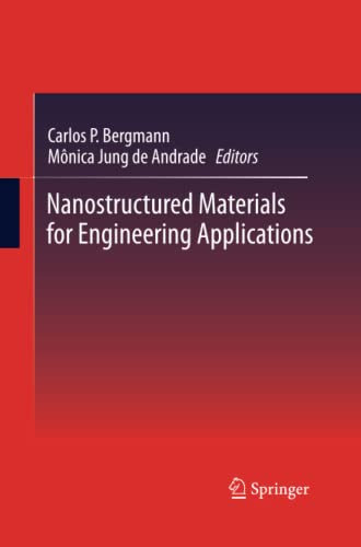 Nanostructured Materials for Engineering Applications: Springer
