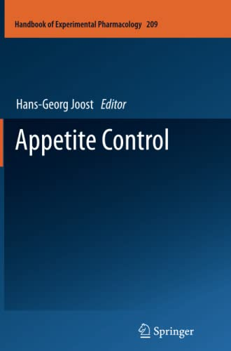 Appetite Control (Handbook of Experimental Pharmacology)