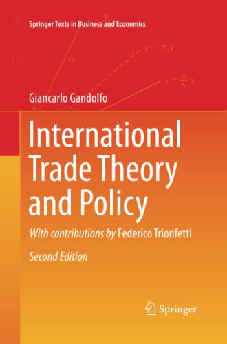 9783642433979: International Trade Theory and Policy (Springer Texts in Business and Economics)