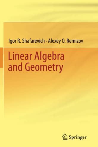 9783642434099: Linear Algebra and Geometry