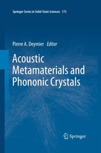9783642434259: Acoustic Metamaterials and Phononic Crystals (Springer Series in Solid-State Sciences)