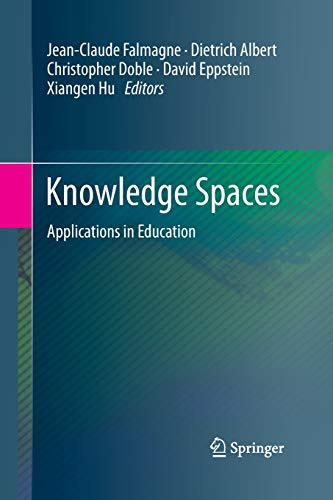 9783642434419: Knowledge Spaces: Applications in Education