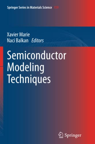 9783642434679: Semiconductor Modeling Techniques (Springer Series in Materials Science)
