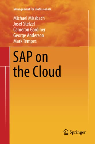 9783642436048: SAP on the Cloud (Management for Professionals)