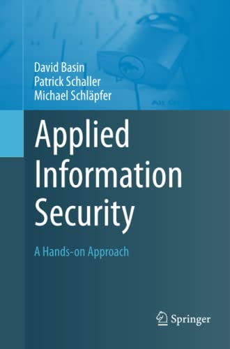 9783642436321: Applied Information Security: A Hands-on Approach