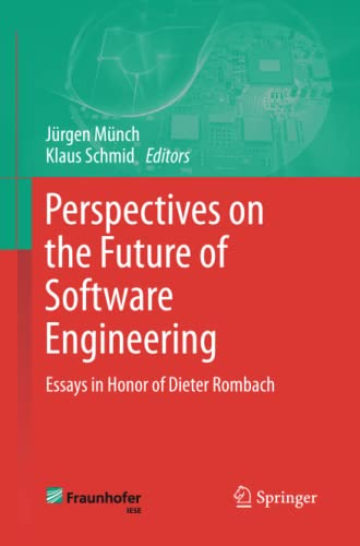 9783642437090: Perspectives on the Future of Software Engineering: Essays in Honor of Dieter Rombach
