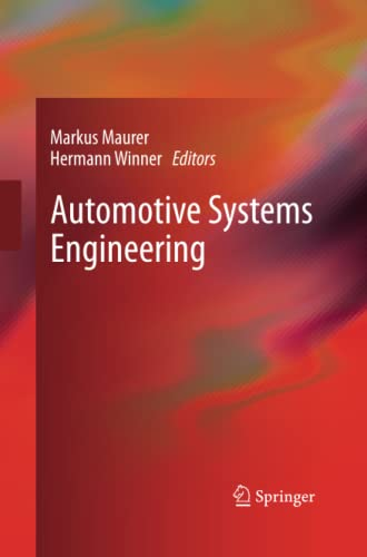 9783642437854: Automotive Systems Engineering