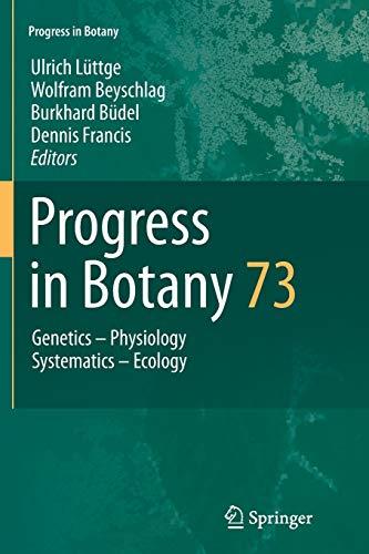 9783642439810: Progress in Botany Vol. 73