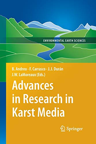 9783642440915: Advances in Research in Karst Media (Environmental Earth Sciences)