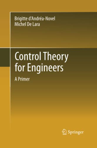 9783642441189: Control Theory for Engineers: A Primer