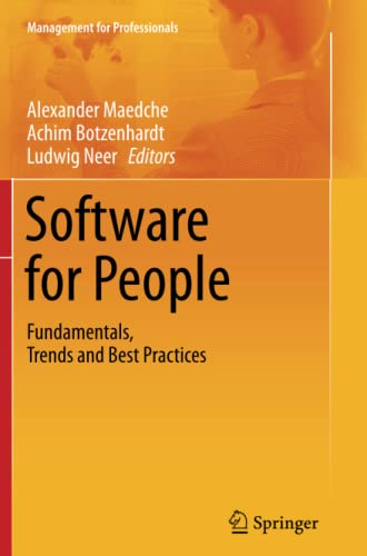 9783642441516: Software for People: Fundamentals, Trends and Best Practices (Management for Professionals)