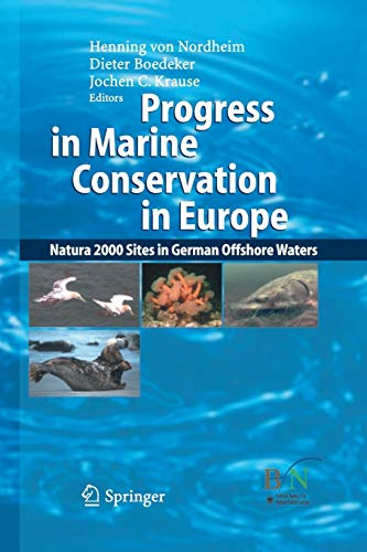 9783642442193: Progress in Marine Conservation in Europe: Natura 2000 Sites in German Offshore Waters