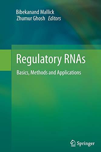 9783642442841: Regulatory RNAs: Basics, Methods and Applications