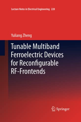 9783642442988: Tunable Multiband Ferroelectric Devices for Reconfigurable RF-Frontends (Lecture Notes in Electrical Engineering)