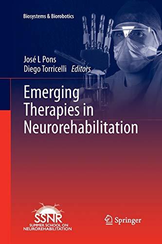 9783642443657: Emerging Therapies in Neurorehabilitation (Biosystems & Biorobotics)