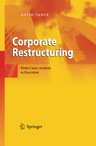 9783642444838: Corporate Restructuring: From Cause Analysis to Execution