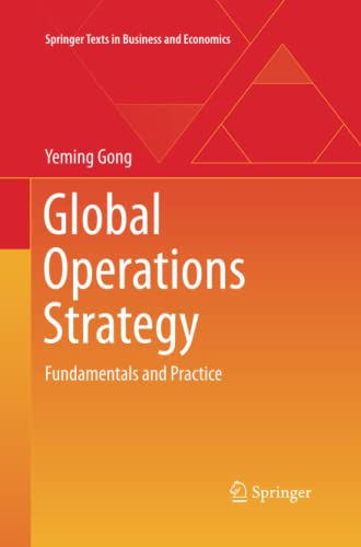 9783642445767: Global Operations Strategy: Fundamentals and Practice (Springer Texts in Business and Economics)