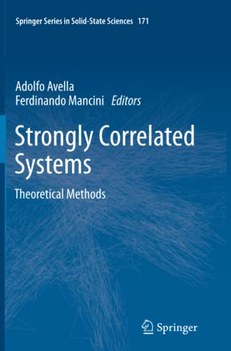 9783642445927: Strongly Correlated Systems: Theoretical Methods (Springer Series in Solid-State Sciences)