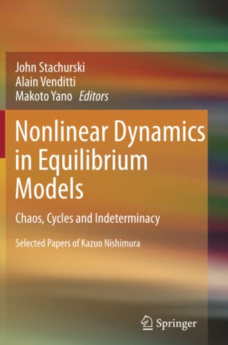 9783642446221: Nonlinear Dynamics in Equilibrium Models: Chaos, Cycles and Indeterminacy
