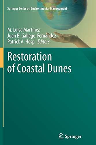 9783642446757: Restoration of Coastal Dunes (Springer Series on Environmental Management)
