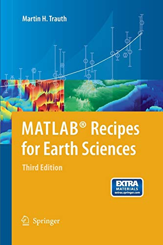 9783642447167: MATLAB® Recipes for Earth Sciences