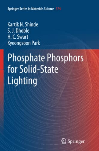 9783642447716: Phosphate Phosphors for Solid-State Lighting (Springer Series in Materials Science)