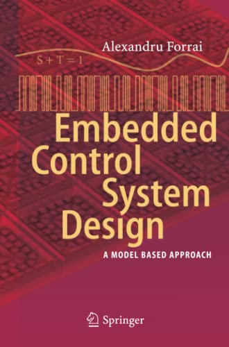 9783642447723: Embedded Control System Design: A Model Based Approach