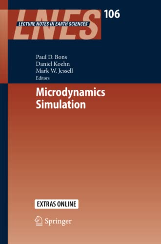 9783642448300: Microdynamics Simulation (Lecture Notes in Earth Sciences)