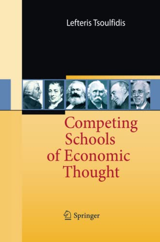 9783642448867: Competing Schools of Economic Thought