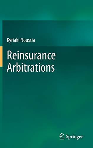 9783642451454: Reinsurance Arbitrations