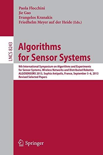 Algorithms for Sensor Systems: Paola Flocchini