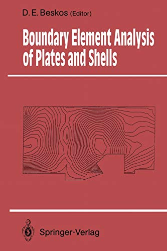 9783642456961: Boundary Element Analysis of Plates and Shells (Springer Series in Computational Mechanics)