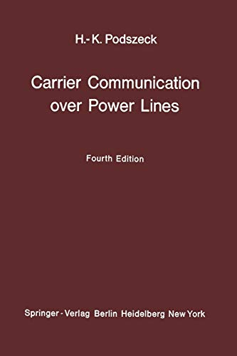 9783642462887: Carrier Communication over Power Lines