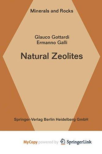 9783642465192: Natural Zeolites
