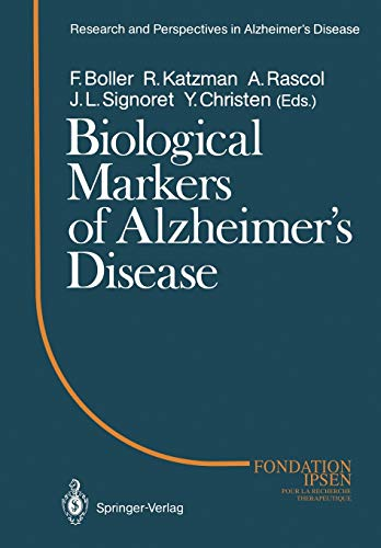 Biological Markers of Alzheimers Disease Research and Perspectives in Alzheimers Disease