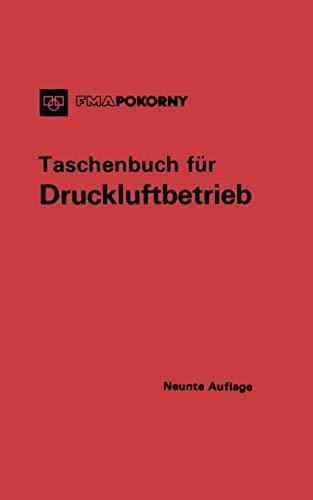 9783642474453: Taschenbuch für Druckluftbetrieb