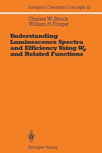Understanding Luminescence Spectra and Efficiency Using Wp and Related Functions: Charles W. Struck