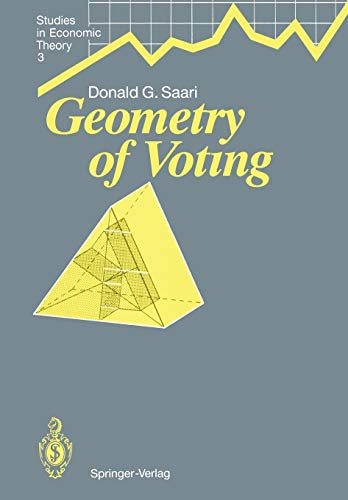9783642486463: Geometry of Voting (Studies in Economic Theory)