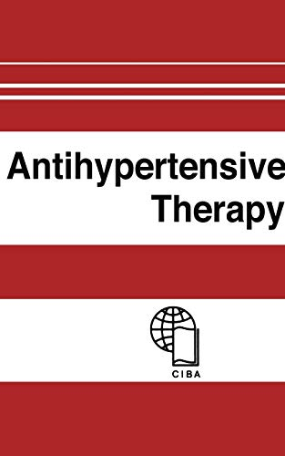9783642502408: Antihypertensive Therapy: Principles and Practice an International Symposium