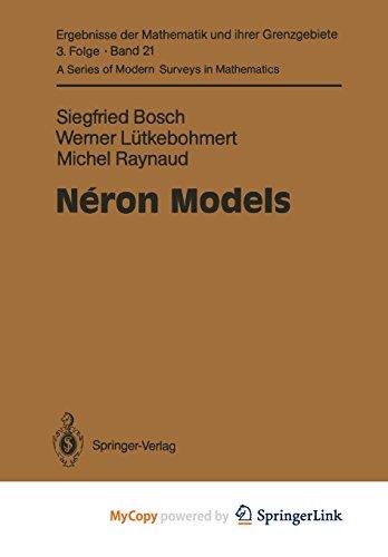 9783642514395: Néron Models