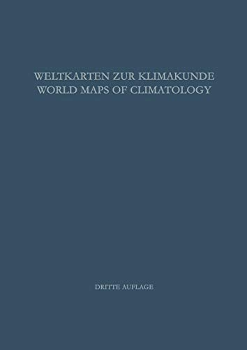 9783642524370: Weltkarten zur Klimakunde / World Maps of Climatology