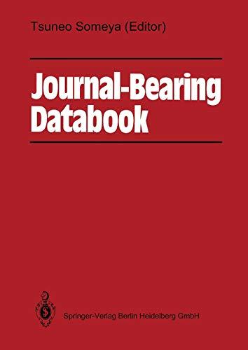 9783642525117: Journal-Bearing Databook