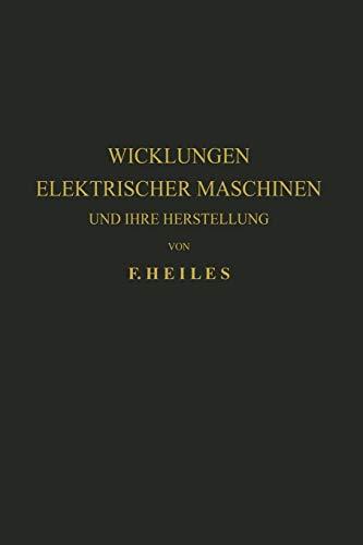 wicklungen elektrischer - ZVAB